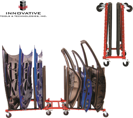 Carro Porta-Paneles móvil y plegable I-PC